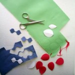 Цветы из ткани: 5 главных Советов для качественных выкроек (Часть 2)