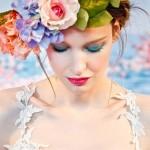 Цветы из ткани в коллекциях дизайнеров весна-лето